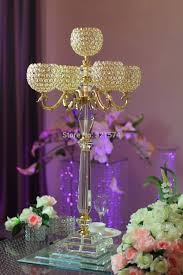 Cheap Gold Centerpieces by Compare Prices On Gold Wedding Centerpieces Online Shopping Buy