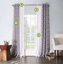 decorating windows creating layered window treatments kohl u0027s