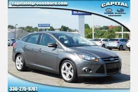 used ford focus 2012 used ford focus for sale in greensboro nc edmunds