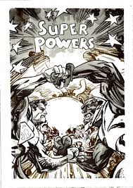 jack kirby quote cover to super powers 6 by jack kirby reimagined superman vs