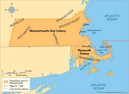 massachusetts on a map massachusetts bay colony facts map significance britannica com