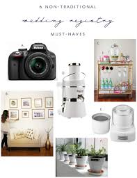 items for a wedding registry 6 non traditional items you should add to your wedding registry