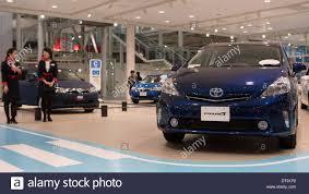 toyota motor corporation japan february 12 2014 tokyo japan a toyota prius vehicle is seen