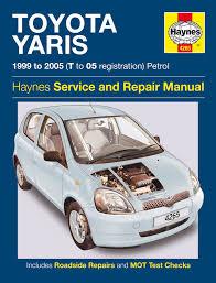 toyota yaris petrol 99 05 haynes repair manual haynes publishing