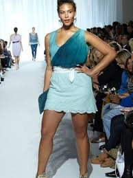 where were the plus size models at houston fashion week