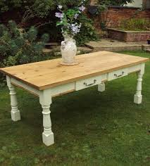 shabby chic farmhouse table vintage farmhouse tables with painted legs any size country life