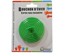 bouchon d evier cuisine bouchon d évier fantaisie design vert 6cm cuisine 762