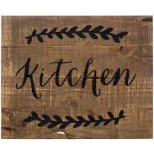 wooden kitchen signs kitchen design