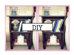 diy antique inspired nightstand or bookcase youtube