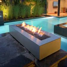 Concrete Fire Pit by Fire Pits Modern Contemporary Outdoor Gas And Propane Paloform