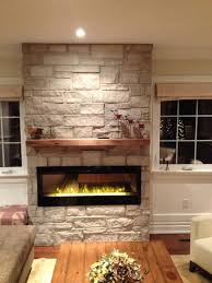 Electric Fireplace With Mantel Electric Fireplace With Barn Beam Mantel