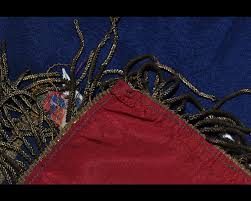 Gold Tassels On American Flag Bandiere Rare 48 Star American Flag Made Of Silk With