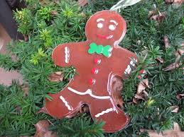 big resin gingerbread man christmas decoration youtube