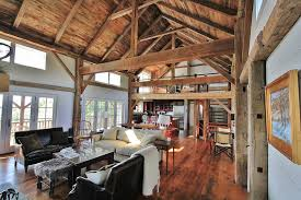 barn home interiors barn style homes design ideas for timber frame houses home style