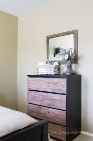 ikea malm hacks super easy rustic industrial ikea malm dresser hack the inspired hive