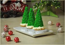 holiday recipes u2013 christmas tree cupcakes u0026 taco wreath