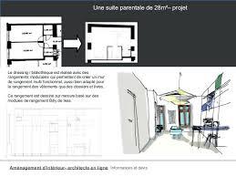 amenagement chambre parentale avec salle bain plan chambre parentale deco chambre parentale moderne plan suite