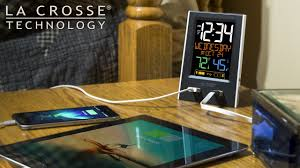 new alarm clock charging station with 2 usb ports youtube