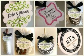 california caramel company wedding favors