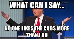 Women Meme Generator - what can i say no one likes the cubs more than i do trump women