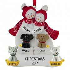 snow 4 pets ornament personalized ornaments for you