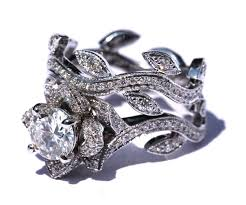 lotus flower engagement ring lotus flower engagement ring 2 flower lotus diamond