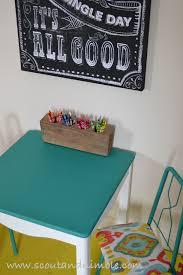 Kids Coloring Table Kid U0027s Table Make Over