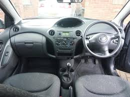 2004 toyota yaris t3 vvt i 1 3 litre petrol 5dr manual in