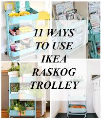 ikea raskog trolley 11ways to use ikea raskog trolley pretty organized life