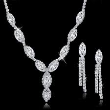 long crystal statement necklace images Jewellery crystal set siumalu jpg