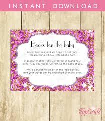 baby shower book message home design ideas