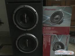 Pioneer Photo Box F S Pioneer Woofer Box Car Parts Pakwheels Forums