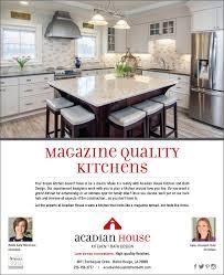 kitchen and bath design magazine acadian house kitchen studio mundi new orleans based advertising