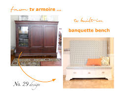 decorating from tv armoire to banquette bench design for living
