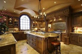 classic kitchen ideas classic kitchen design with chandeliers and wooden table 99