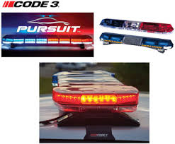 code 3 pursuit light bar code 3 quality police vehicle lighting lightbars sirens beacons