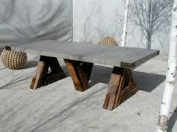 Make Wood Outdoor Table by Best 20 Concrete Table Ideas On Pinterest U2014no Signup Required