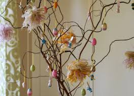 an easter tree mirror mirror