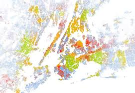 interactive map color codes race of every single american