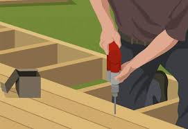 Free Online Deck Design Home Depot Steps To Build A Ground Level Deck At The Home Depot