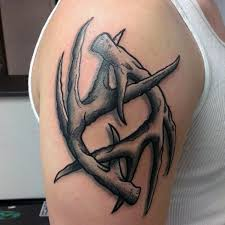 24 deer antler tattoos with powerful meanings tattoos win