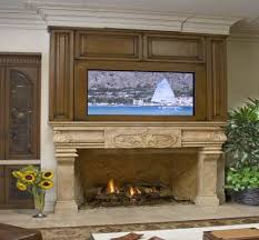 television over fireplace tv over fireplace images of as well the built in but unconcealed