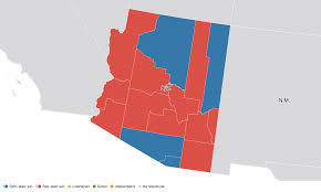 Map Of Election Results by Arizona Election Results 2016 Live Maps Polling Analysis