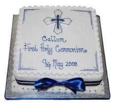 communion cake blue first communion baptism ideas pinterest