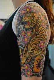 japanese tiger meaning ideas designs traditional sleeve