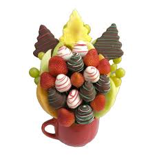 edible bouquet merry christmas bouquet orchard berry arrangements spruce grove