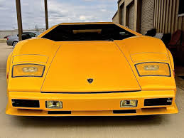 yellow lamborghini countach lamborghini countach in round rock u2013 or is it atx car pictures