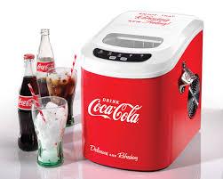 ice100coke coca cola automatic ice cube maker nostalgia electrics