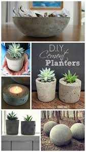 Garden Art To Make - diy cement planters and garden globes cement planters cement