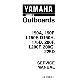 yamaha 150feto outboard service repair manual l 352137